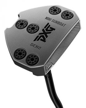 PXG Gen2 Mini Gunboat Chrome S Neck Putter