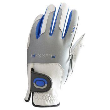 Zoom Flexx Fit Men's Tour Gloves - White/Silver/Blue