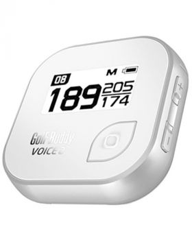 GolfBuddy Voice 2 Golf GPS - Silver