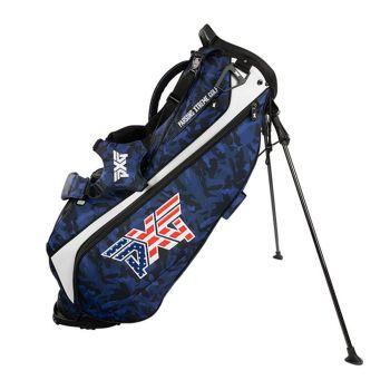 PXG Lightweight Carry Stand Bag- Fairway Camo Stars & Stripes