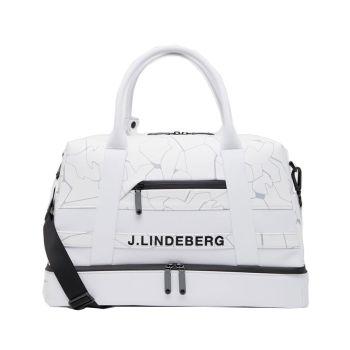J.Lindeberg Boston Bag - Slit White - SS21