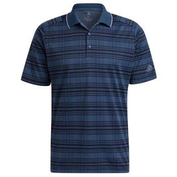 Adidas Men's Statement No Show Primegreen Golf Polo - Crew Navy/Collegiate Navy