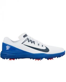 Nike Lunar Command 2 Golf Shoes - White/Blue Jay