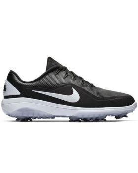 Nike React Vapor 2 Golf Shoes - Black/White/White Metallic