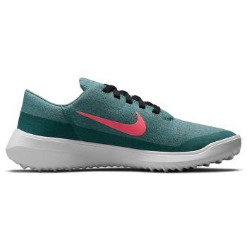 Nike Women's Victory G Lite Golf Shoes - Green Stone/Hot Punch/White/Black