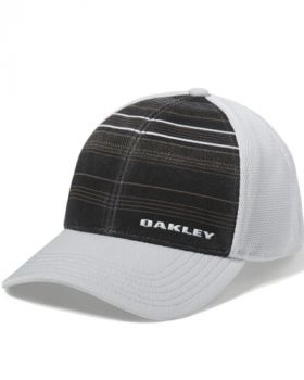OAKLEY SILICON BARK TRUCKER PRINT 2.0 CAP - BLACKOUT