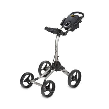 BagBoy Quad XL Push Cart - Silver/Black