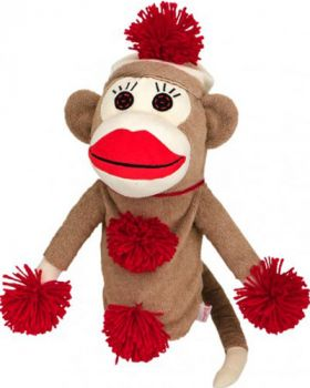 DAPHNE'S HEADCOVER FITSALL - MONKEY MADE OF SOCKIES