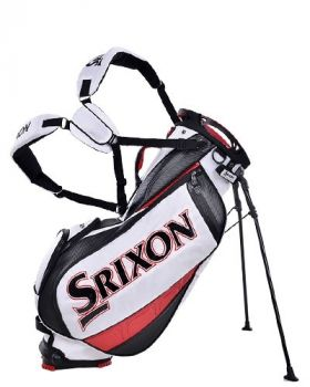 Srixon Tour Stand Bag - White/Black/Red