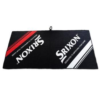 SRIXON TOUR TOWEL MICRO FIBER BLACK/WHITE