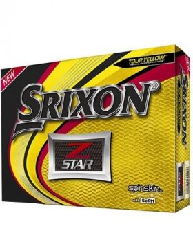 Srixon 2019 Z-Star Golf Balls - Tour Yellow