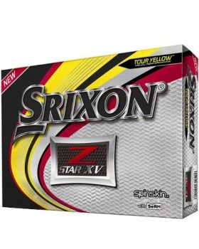 Srixon 2019 Z-Star XV Golf Balls - Tour Yellow