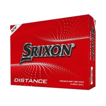 Srixon Men's Distance Golf Balls - White