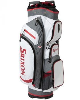 Srixon Performance Cart Bag - White/Grey/Red