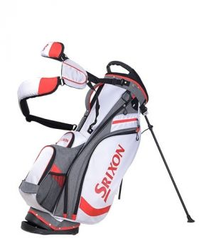 Srixon Performance Stand Bag - White/Grey/Red