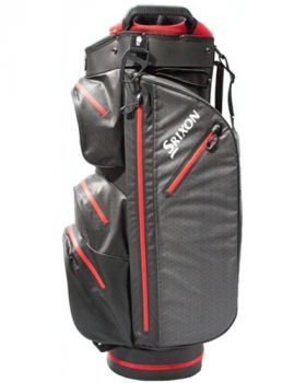 Srixon Ultradry Cart Bag - Black/Red
