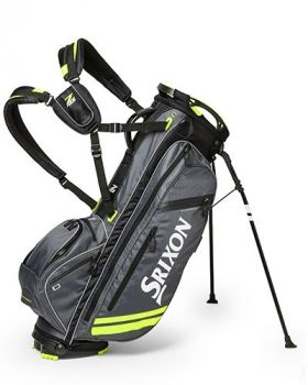 Srixon Z Four Stand Bag - Charcoal/Tour Yellow