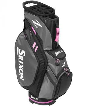 Srixon Z Four Cart Bag - Grey/Tour Pink