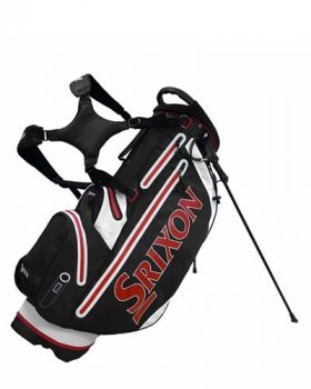 Srixon Tech Golf Stand Bag - Black/ Red/ White
