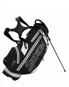 Srixon Tech Golf Stand Bag - Black/ Charcoal/ White