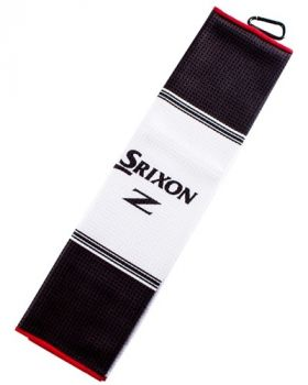 SRIXON Tri-Fold Bag Towel - White/Black