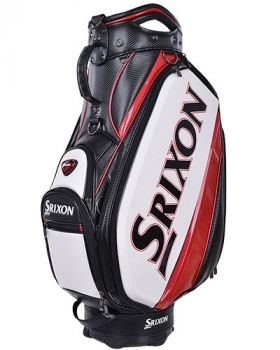 Srixon Tour Staff Bag - White/Black/Red