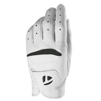 Taylormade Men's Stratus Soft Glove Left Hand (For The Right Handed Golfer) - White