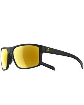Adidas A423 Whipstart Sunglasses - Black Frame/Gold Lens