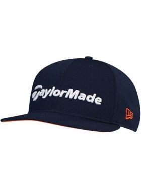 TaylorMade Tour 9Fifty Snapback Cap - Navy/Orange/White