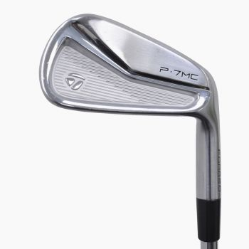 Excellent Condition TaylorMade P7MC  Forged Irons 4-PW with Steel Shaft
