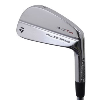 Excellent Condition TaylorMade P.7TW Irons 4-PW with DG Tour Issue Stiff Flex Steel Shaft