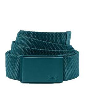 Under Armour Women's UA Solid Webbing Belt - Tourmaline Teal