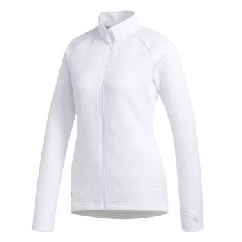 Adidas Women's Textured Layered Jacket - White