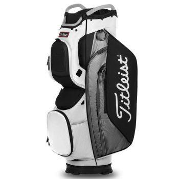 Titleist Cart 15 Lightweight Bag - White/Grey/Black