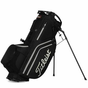 Titleist Hybrid 14 Stand Bag - Black / Grey