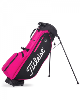 Titleist Players 4 Plus Pink Out Stand Bag - Black/Pink