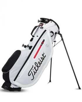 Titleist Players 4 Stand Bag - White/Black