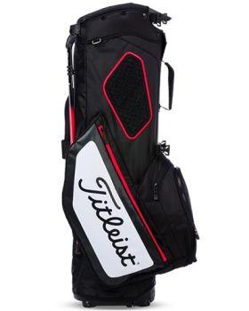 Titleist Hybrid 5 Stand Bag - Black/White/Red