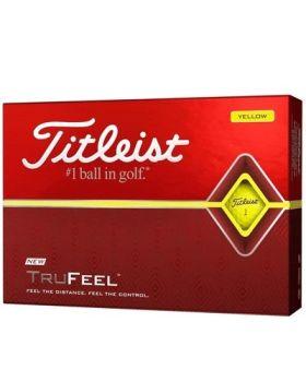 Titleist TruFeel Golf Balls - Yellow