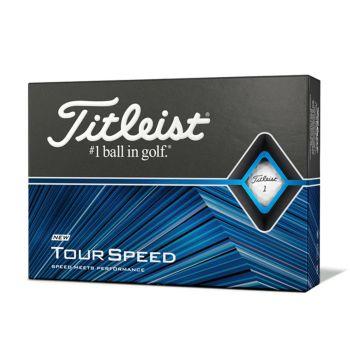 Titleist Tour Speed Golf Balls - White