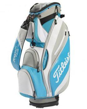 Titleist Reverse Cart Bag - Blue/ White/ Grey