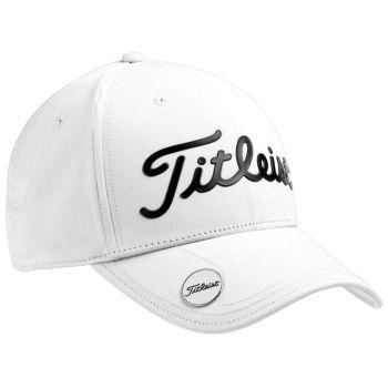 Titleist Performance Ball Marker Golf Cap - White