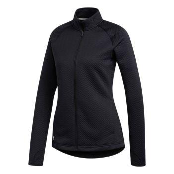 Adidas Women's Textured Layered Jacket - Black