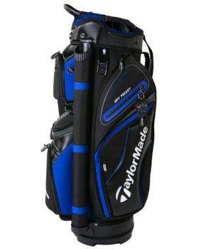 TaylorMade 19 Premium Cart Bag - Black/Blue/Charcoal