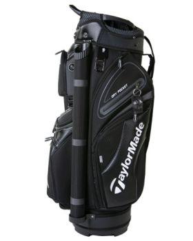 TaylorMade 19 Premium Cart Bag - Black/Charcoal