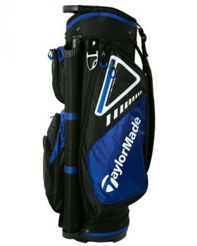 TaylorMade Select LX Cart Bag - Black/Blue/White