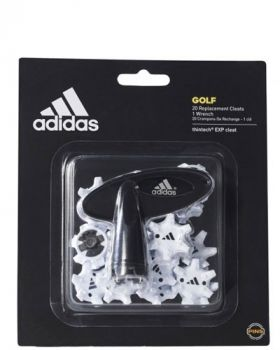 Adidas Thintech 20-pieces Clamshell Cleats - White