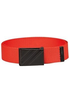 Adidas Webbing Belt - Hi Res Red