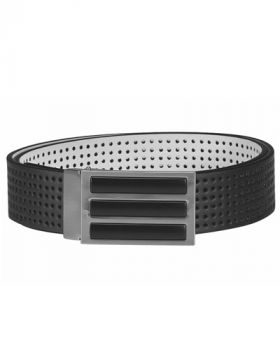 Adidas 3-Stripes Perforated Reversible Belt - Black