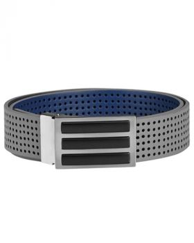Adidas 3-Stripes Perforated Reversible Belt - Grey